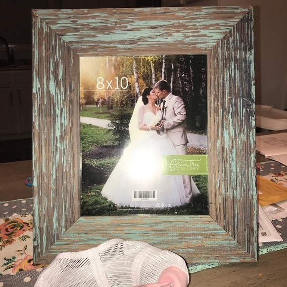 Accents 8x1 Distressed Wood Antique Pic Frame Poshmark